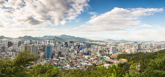 Seoul Panorama Stock Images