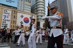 Seoul-Parade Lizenzfreie Stockfotografie