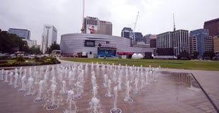 Seoul plaza royalty free stock photo