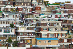 Seoul residential area Royalty Free Stock Image