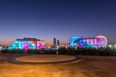 SEOUL - 26. SEPTEMBER: Bunt von sich hin- und herbewegender Insel Seouls Stockfotografie
