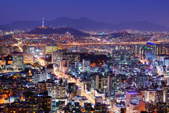 Seoul Skyline Stock Photos