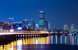 Seoul skyline Stock Images