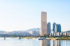 Seoul Skyline Royalty Free Stock Photography