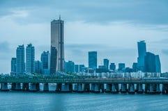 Seoul Skyline Stock Image