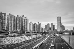 Seoul Skyline Royalty Free Stock Images