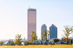 Seoul Skyline Royalty Free Stock Image