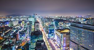 Seoul Skyline Stock Images