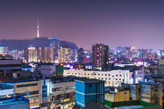 Seoul Skyline Royalty Free Stock Photo