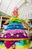 Flowers tree Color Blossom in Lotte World Adventure royalty free stock photography