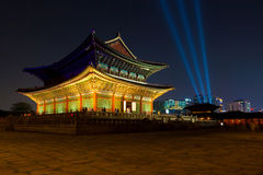 Seoul, South Korea - August 14, 2015: Gyeongbokgung main palace Stock Image
