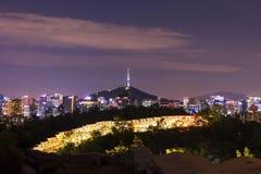 Seoul South Korea City Skyline Stock Images