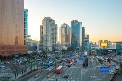 Seoul cityscape in Seoul, South Korea Stock Image