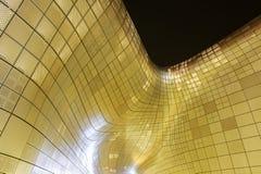 SEOUL, SOUTH KOREA - FEBRUARY 3: Dongdaemun Design Plaza. Stock Photo