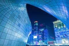 SEOUL, SOUTH KOREA - FEBRUARY 3: Dongdaemun Design Plaza. Royalty Free Stock Images