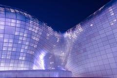SEOUL, SOUTH KOREA - FEBRUARY 3: Dongdaemun Design Plaza. Royalty Free Stock Photo