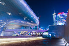 SEOUL, SOUTH KOREA - FEBRUARY 3: Dongdaemun Design Plaza. Stock Images