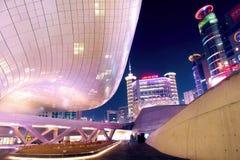 SEOUL, SOUTH KOREA - FEBRUARY 3: Dongdaemun Design Plaza. Royalty Free Stock Photos