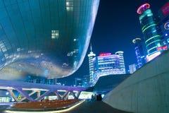 SEOUL, SOUTH KOREA - FEBRUARY 3: Dongdaemun Design Plaza. Stock Photography