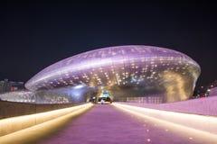 SEOUL, SOUTH KOREA - FEBRUARY 3: Dongdaemun Design Plaza. Royalty Free Stock Photography