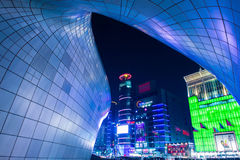 SEOUL, SOUTH KOREA - FEBRUARY 3: Dongdaemun Design Plaza. Royalty Free Stock Image