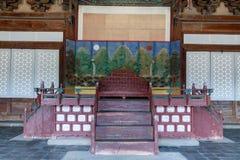 Changgyeonggung palace scene in Seoul city, South Korea stock image