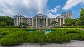 Time lapse of kyung hee university seoul south korea