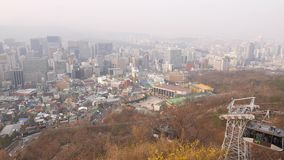 Namsan Cable Car, Seoul, South Korea