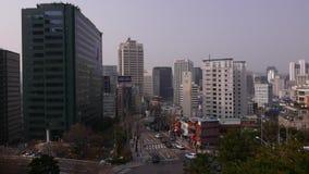 Seoul cityscape panorama