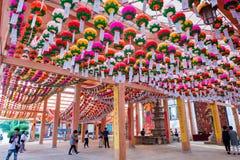 SEOUL, SOUTH KOREA - MAY 9 : Bongeunsa Temple. Stock Photo