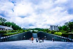 Ewha Womans University - Private women`s university in Seoul stock image