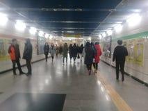 Seoul, South Korea: People doing different activities Stock Photos