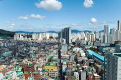 Seoul, South Korea - Sept 17, 2017: Seoul city landscape photo, South Korea Stock Photo