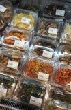 Assorted Korean pickle Kimchi Royalty Free Stock Photos