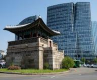 Seoul, South Korea. Streets of Seoul, capital of South Korea Stock Photography