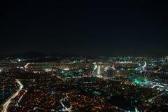 Seoul spot lights Stock Image