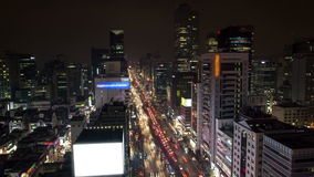 Seoul stad i stadens centrum Gangnam stock video