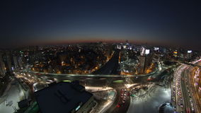 Seoul stad Yoido lager videofilmer