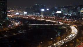 Seoul stad Yoido arkivfilmer