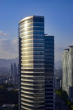 Seoul-Stadtbild - niedrige Winkelsicht Stockbilder