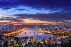 Seoul-Stadtskyline Lizenzfreie Stockfotografie