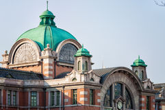 Seoul station royaltyfria foton