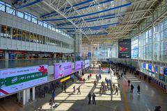 Seoul Station Royalty Free Stock Images