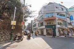 Seoul-Straßenansicht Lizenzfreies Stockbild