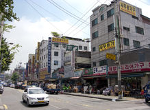 Seoul street Royalty Free Stock Image