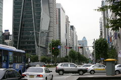 Free Seoul. Street Royalty Free Stock Photo - 18150335