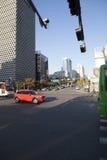 Seoul Street Scene Royalty Free Stock Photos