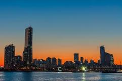 Seoul Sunset Stock Photos