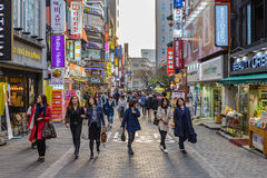 Seoul Sydkorea Arkivbilder