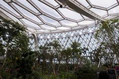 Seoul Sydkorea - 4 februari 2019: inom sikt av det botaniska växthuset av Seoul parkera, seoul, Sydkorea royaltyfri foto